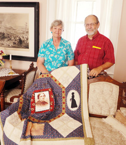 Civil War era quilts
